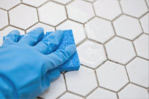 how to clean tiles