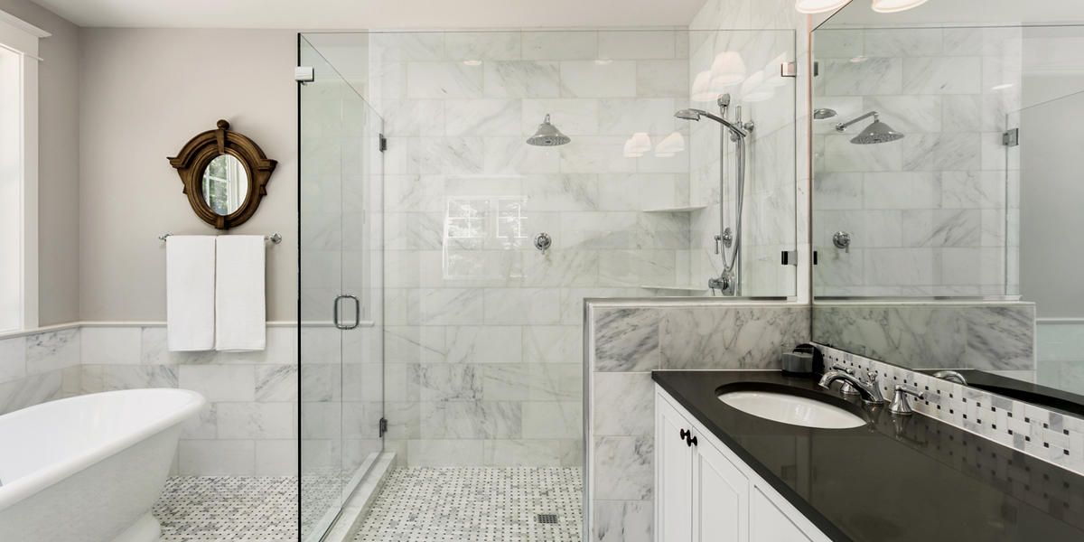 Enjoyable The Cost Of A Glass Shower Door Can Be Crazy But Heres How Interior Design Ideas Gresisoteloinfo