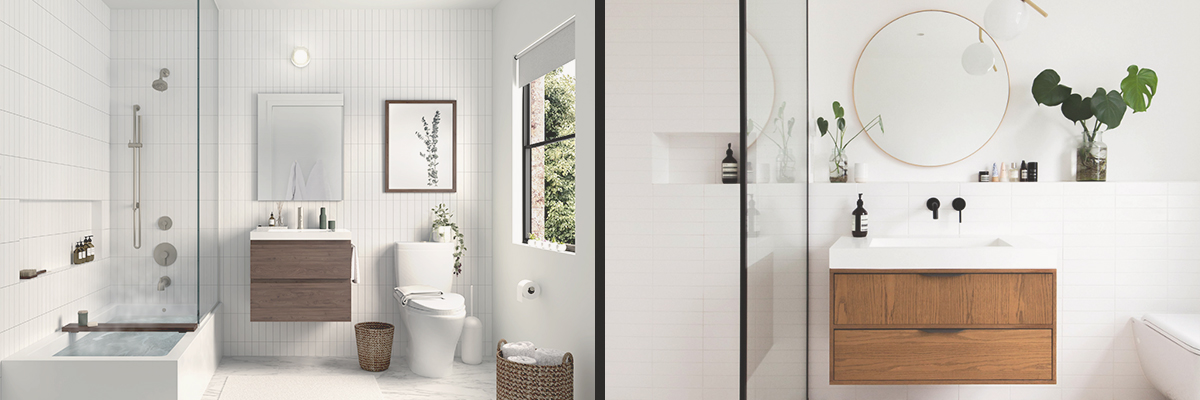 Modern Vs Contemporary Bathroom Design What S The Difference Really Block Guides How To Best Plan Finance And Build Your Renovation
